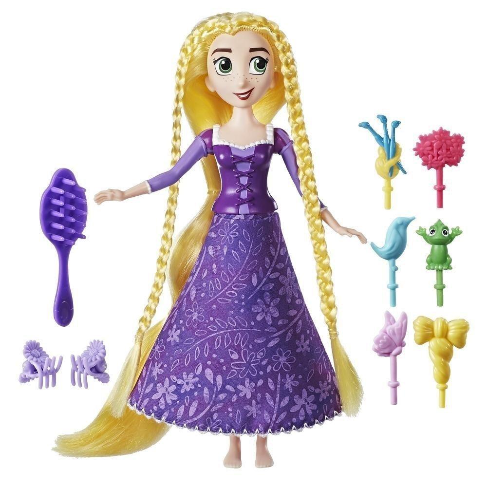 Hasbro Disney Princess Księżniczki Zaplątani Szalone Fryzury