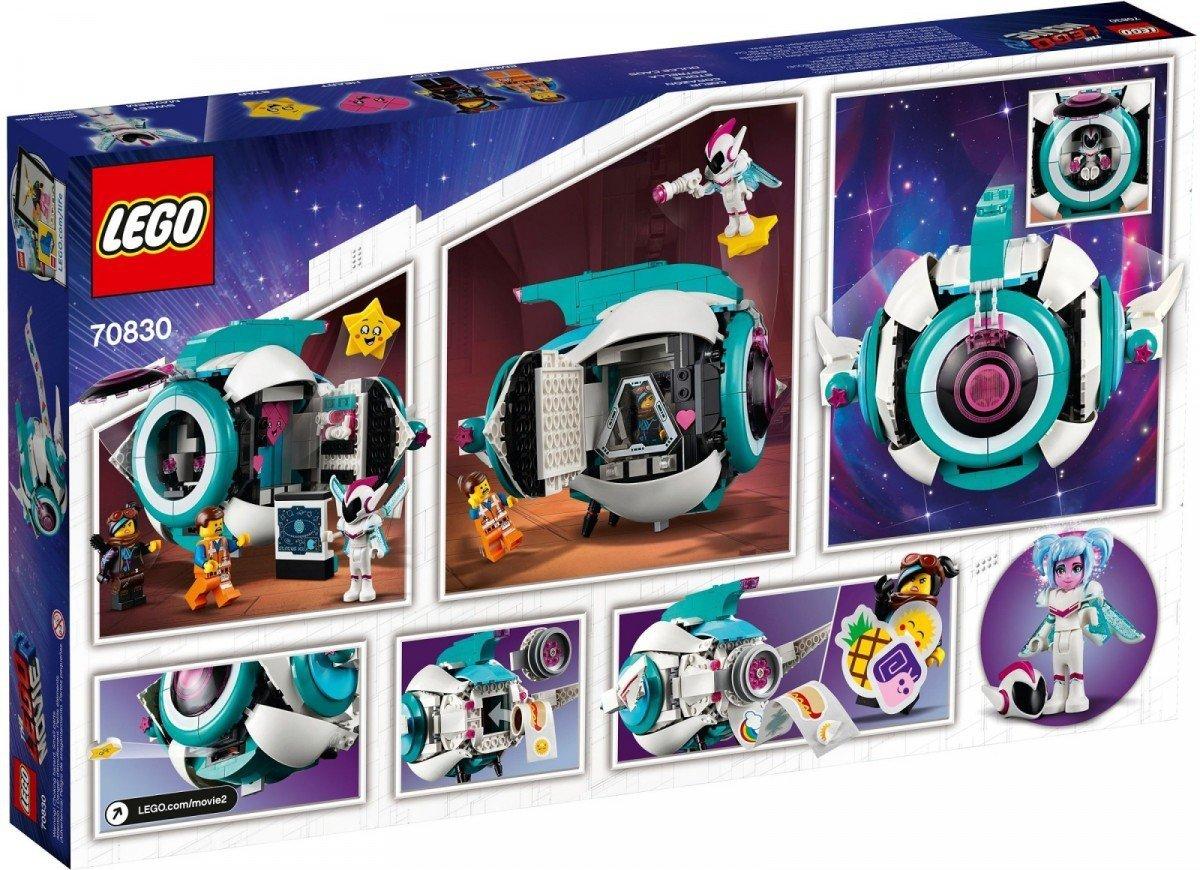 Lego Movie Gwiezdny Statek Słodkiej Zadymy 70830 9 The Movie