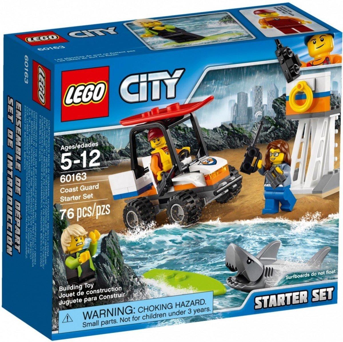 Lego City Straż Przybrzeżna Zestaw Startowy 60163 5 City Lego