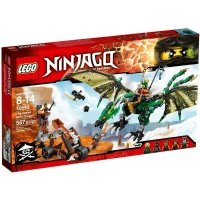 LEGO NINJAGO ZIELONY SMOK NRG 70593 8+