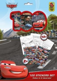 JIRI MODELS CARS AUTA 100 NAKLEJEK HOLOGRAFICZNYCH 3+