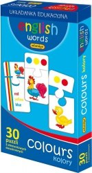 ADAMIGO GRA ENGLISH WORDS - COLOURS 6+