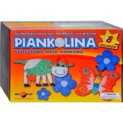 ART AND PLAY MASA PIANKOWA PIANKOLINA 8 KOLORÓW STANDARD 8+