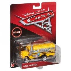 MATTEL AUTA CARS 3 MISS FRITTER MAGISTER FELGA DELUXE DXV94 3+