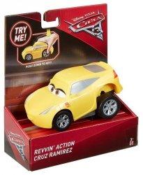 MATTEL AUTA CARS 3 NACIŚNIJ I JEDŹ CRUZ RAMIREZ DVD33 3+
