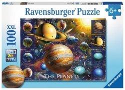 RAVENSBURGER 100 EL. XXL PLANETY PUZZLE 6+