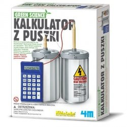 4M GREEN SCIENCE KALKULATOR Z PUSZKI 8+
