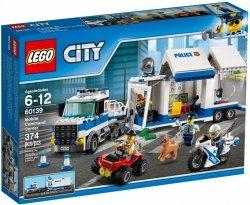 LEGO CITY MOBILNE CENTRUM DOWODZENIA 60139 6+