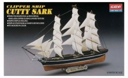 ACADEMY CLIPPER SHIP CUTTY SARK SKALA 1:350 8+