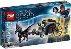 LEGO FANTASTIC BEASTS UCIECZKA GRINDELWALDA 75951 7+