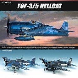ACADEMY F6F-3/5 HELLCAT SKALA 1:72 8+