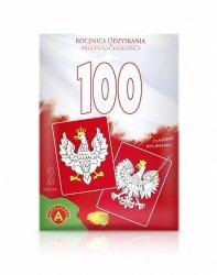 ALEXANDER 100 ROCZNICA ODZYSKANIA NIEPODLEGŁOŚCI, GODŁO RZECZPOSPOLITEJ POLSKIEJ 6+