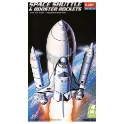 ACADEMY SPACE SHUTTLE W BOOSTER 12707 SKALA 1:288
