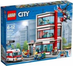 LEGO CITY SZPITAL 60204 6+