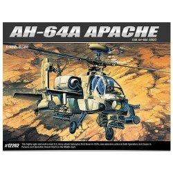 ACADEMY AH-64A APACHE SKALA 1:48 8+