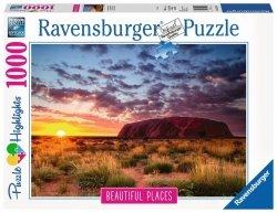 RAVENSBURGER 1000 EL. AYERS ROCK AUSTRALIA PUZZLE 14+