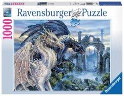 RAVENSBURGER 1000 EL. MISTYCZNE SMOKI PUZZLE 14+