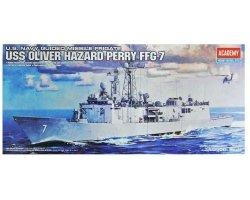ACADEMY USS OLIVER HAZARD PERRY FFG-7 14102 SKALA 1:350