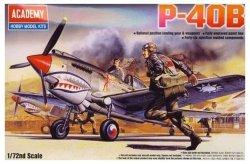 ACADEMY CURTISS P-40B TOMAHAWK SKALA 1:72 8+