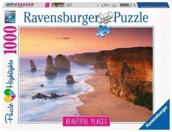 RAVENSBURGER 1000 EL. DROGA NAD OCEANEM AUSTRALIA PUZZLE 14+
