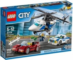 LEGO CITY SZYBKI WYŚCIG 60138 5+