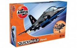 AIRFIX QUICK BUILD BAE HAWK 5+