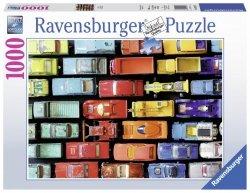 RAVENSBURGER 1000 EL. KOLOROWE MODELE PUZZLE 14+