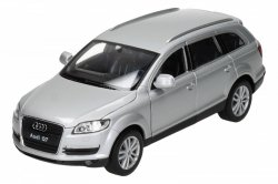 WELLY AUDI Q7 SREBRNY SKALA 1:24