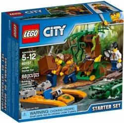LEGO CITY DŻUNGLA - ZESTAW STARTOWY 60157 5+