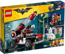LEGO BATMAN MOVIE ARMATA HARLEY QUINN 70921 7+