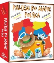 ABINO GRA PALCEM PO MAPIE - POLSKA 7+