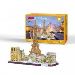 CUBICFUN PUZZLE 3D CITY LINE PARIS 114EL. 8+