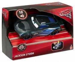 MATTEL AUTA 3 CARS 3 AUTO ŚWIATŁO + DŹWIĘK JACKSON STORM FDD57 3+