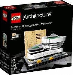 LEGO ARCHITECTURE MUZEUM SALOMONA R.GUGGENHEIMA 21035 12+