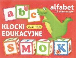 ADAMIGO KLOCKI EDUKACYJNE 12 EL. 3+