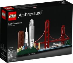 LEGO ARCHITECTURE SAN FRANCISCO 21043 12+