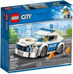 LEGO CITY SAMOCHÓD POLICYJNY 60239 5+