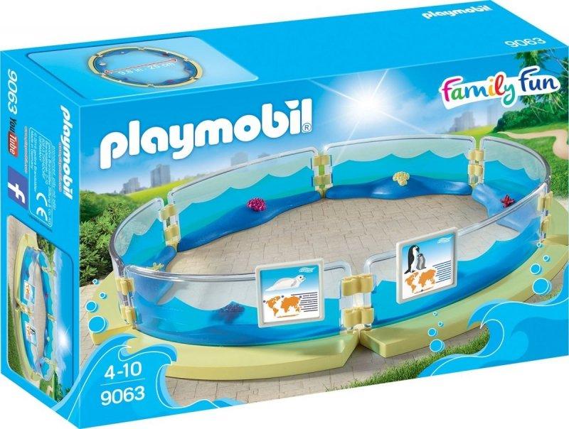 PLAYMOBIL BASEN DLA FAUNY MORSKIEJ 9063 4+