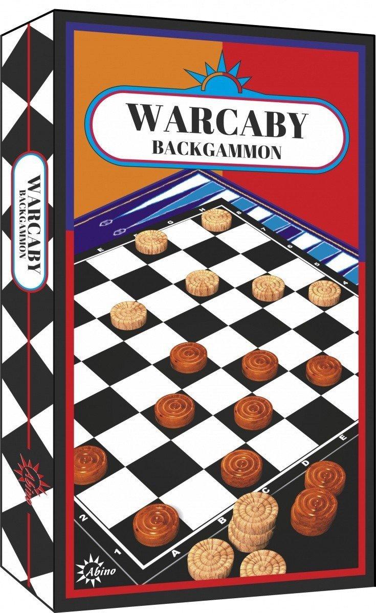 ABINO GRA WARCABY BACKGAMMON 5+