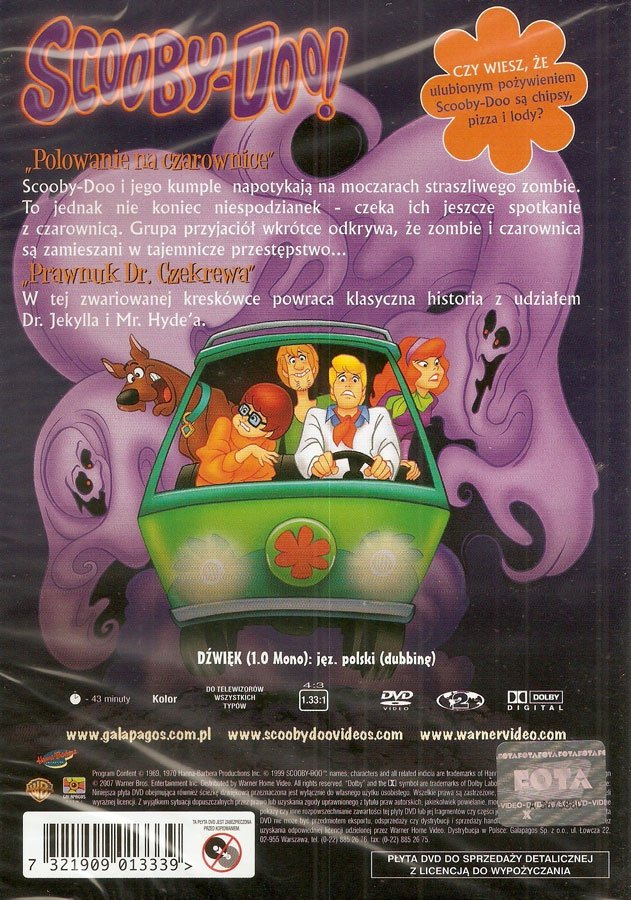 SCOOBY-DOO: POLOWANIE NA CZAROWNICE (Scooby-Doo: Which Witch is Which) (DVD)
