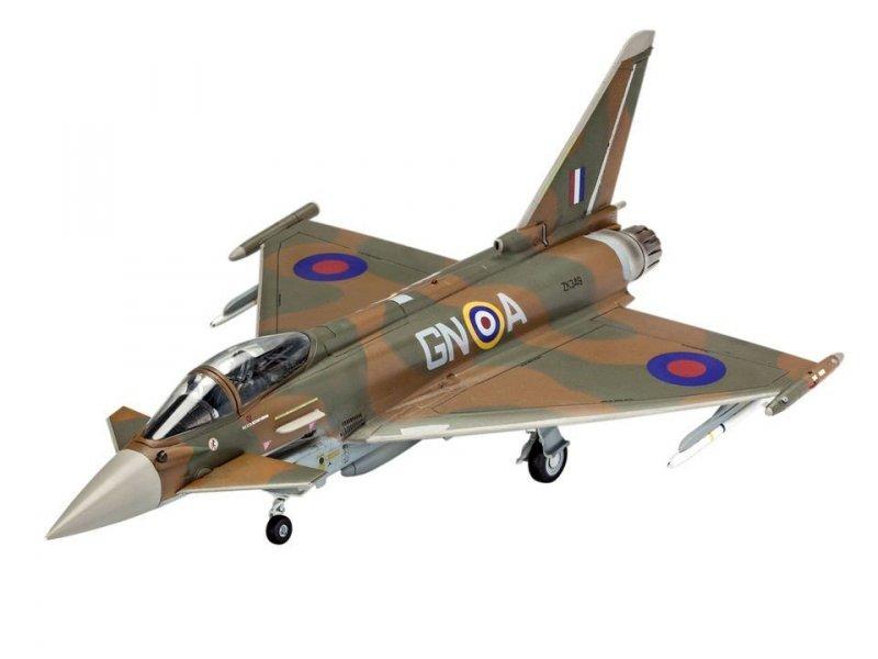 REVELL EUROFIGHTER TYPHOON RAF 03900 SKALA 1:72
