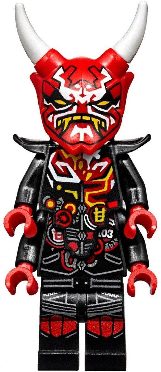 Lego Ninjago Wyścig Uliczny Wężowego Jaguara 70639 7 Ninjago