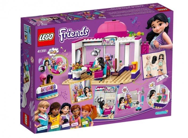 LEGO FRIENDS SALON FRYZJERSKI W HEARTLAKE 235EL. 41391 6+