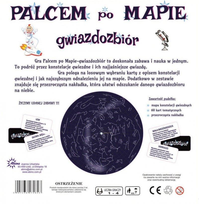ABINO GRA PALCEM PO MAPIE - GWIAZDOZBIÓR 7+