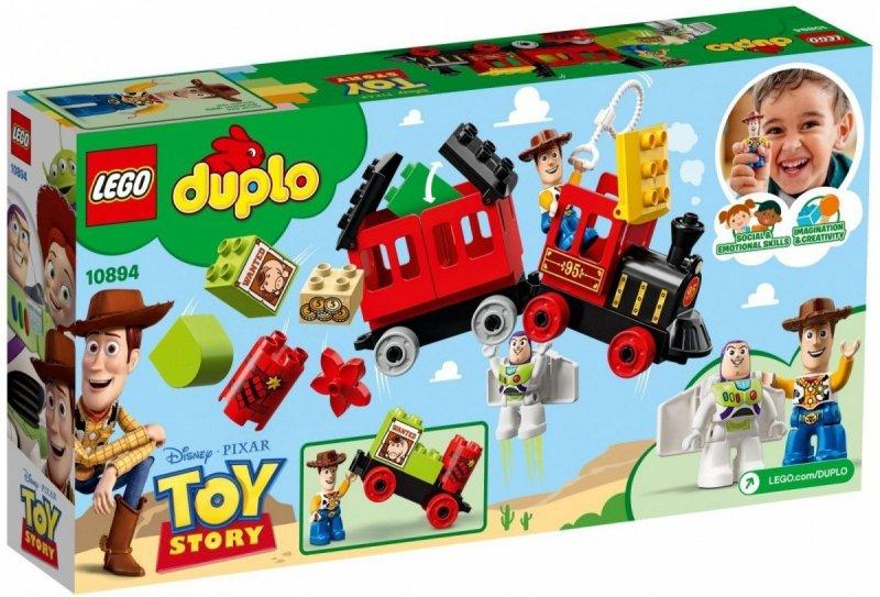 LEGO DUPLO POCIĄG Z TOY STORY 10894 2+