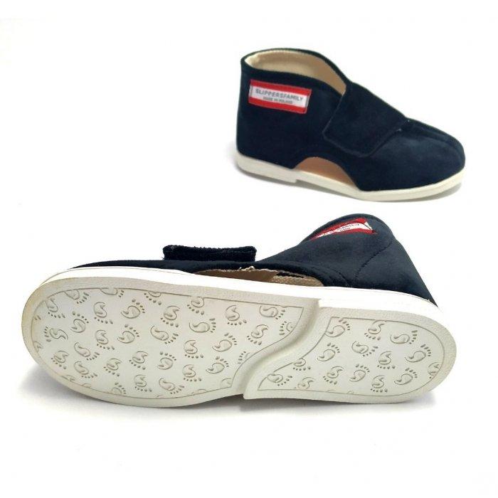 kapcie-dla-dzieci-slippers-family-czarna-pantera