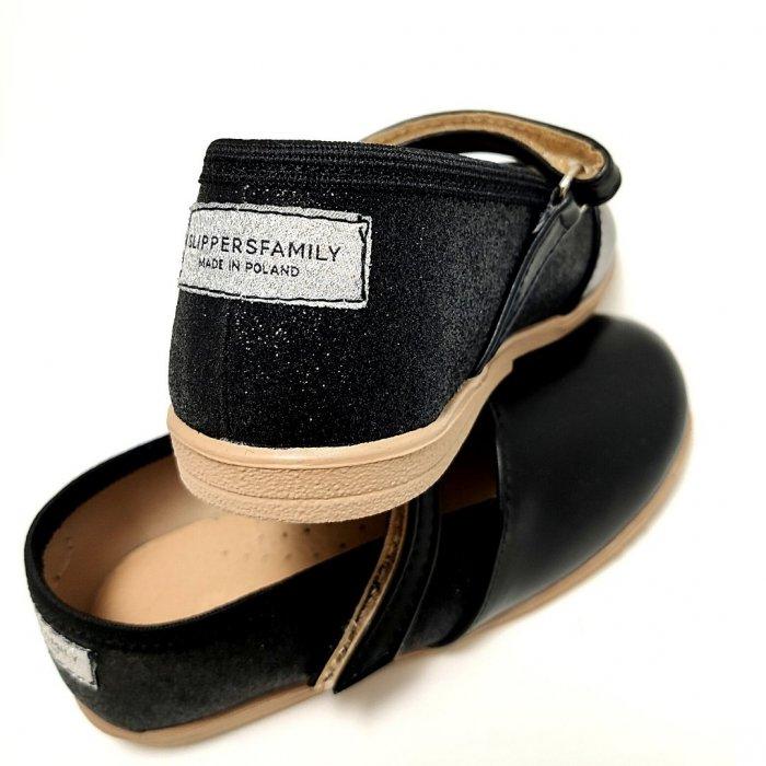 baleriny-dla-dzieci-slippers-family-glam-black