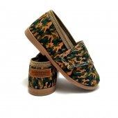 Buty dla dzieci na rzep TENISÓWKI LOWERKI MORO