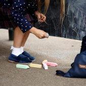 buty-dla-dzieci-wizytowe-slippers-family-aksamit-szafir