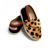 Buty dla dzieci na rzep nature LOWERKI Gepard